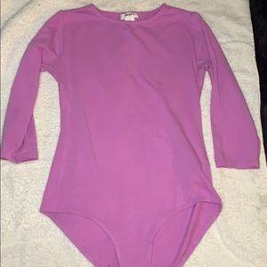 light purple bodysuit for girls